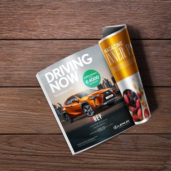 Anzeigenproduktion - Lexus