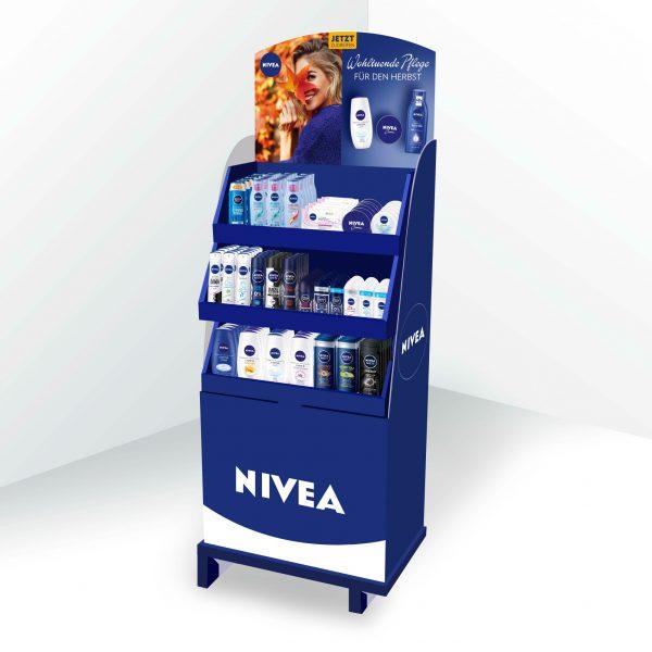 POS Gestaltung und Visualisierung - Nivea
