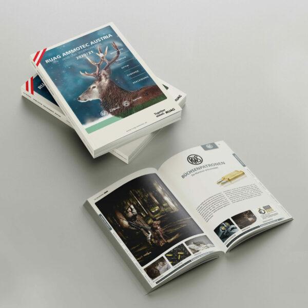 Katalog Gestaltung und Reinzeichnung - RUAG Ammotec